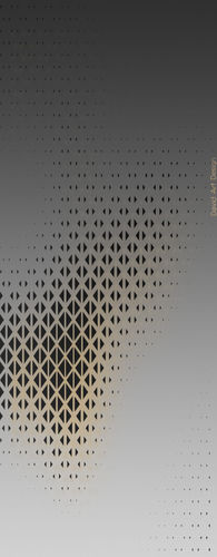 Abstract Silver & Gold Wallpaper