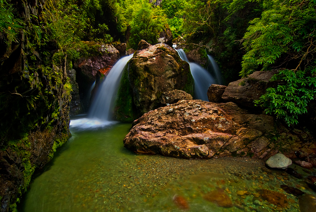 Sharplin falls Staveley & Mt Somers