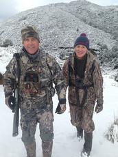 Hunting New Zealand Scott and Myriam
