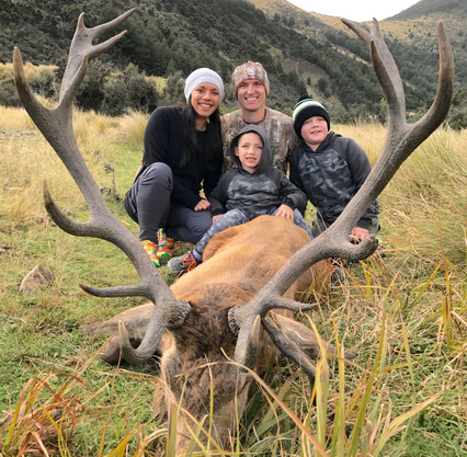 Red Stag hunt with David and family