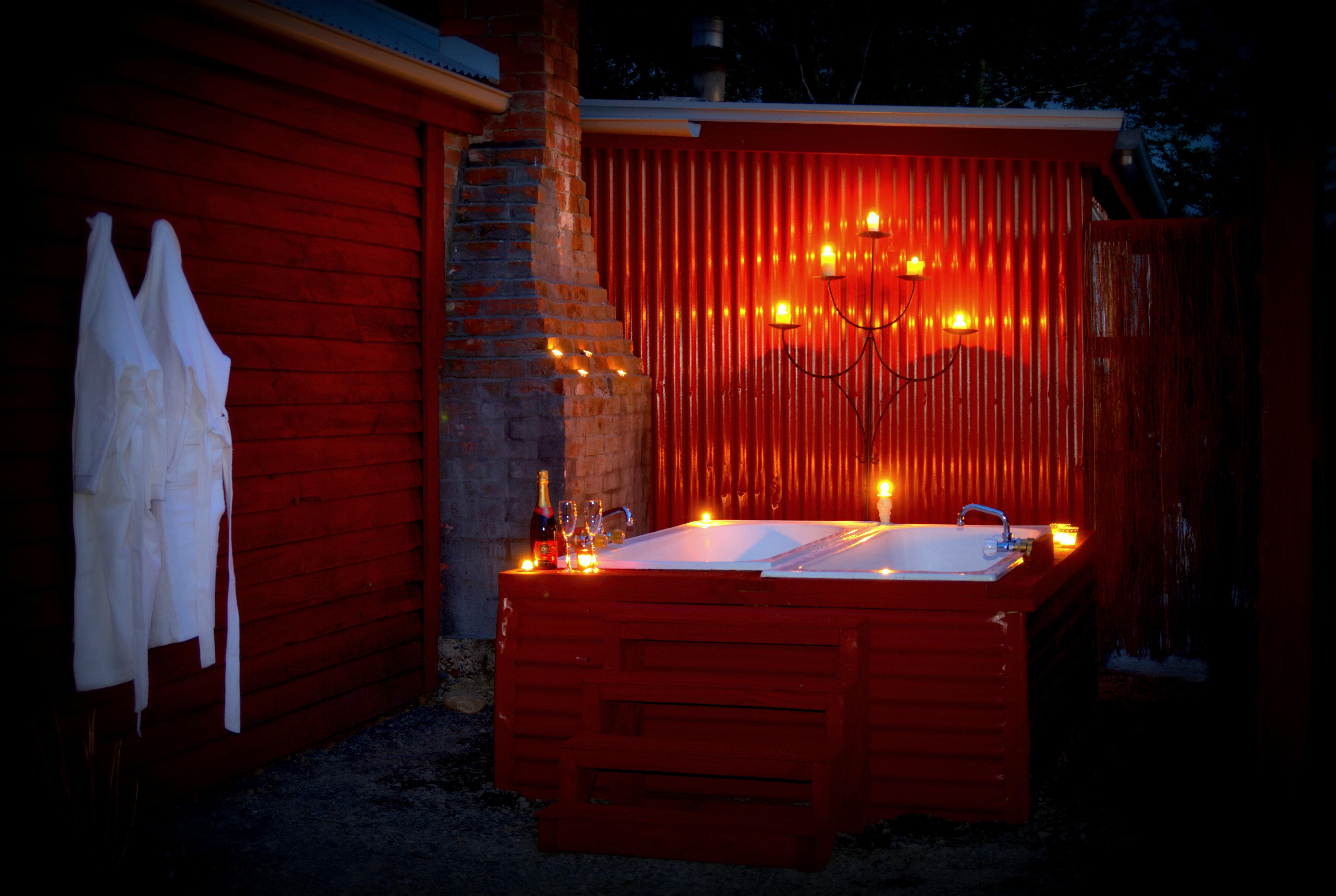 Outdoor Baths Romantic Hotel