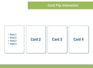 Flip Card elearning interaction for Storyline