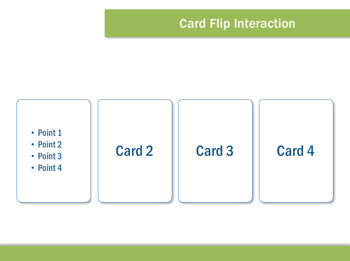 elearning card flip interaction