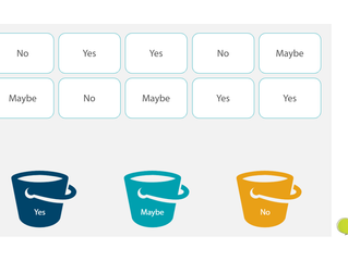 Elearning Sorting Activity demo