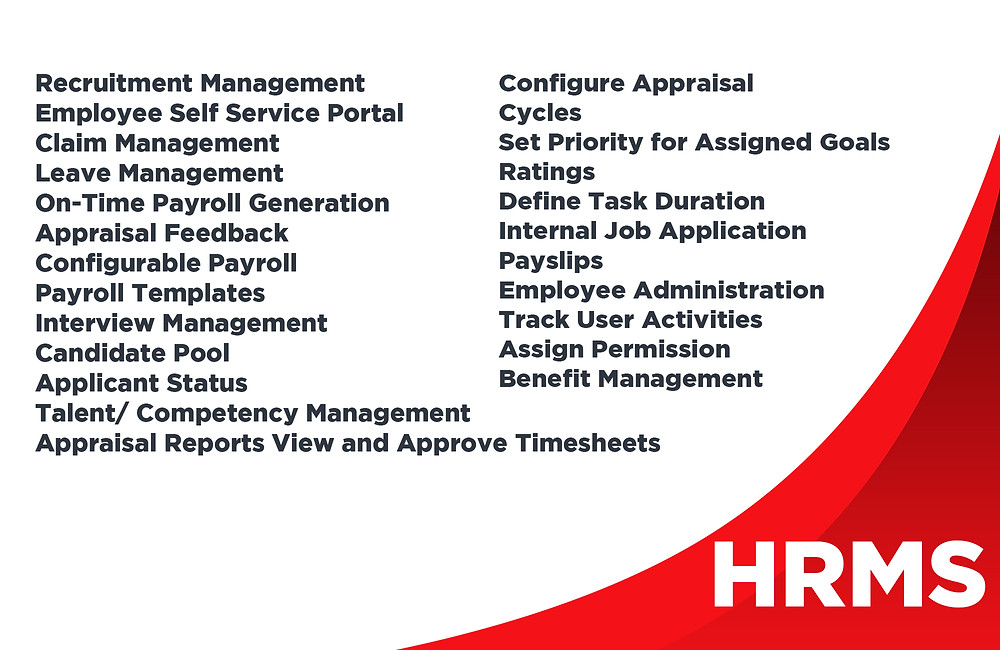 HRMIS, HRMS Software and Payroll Business Software in Singapore
