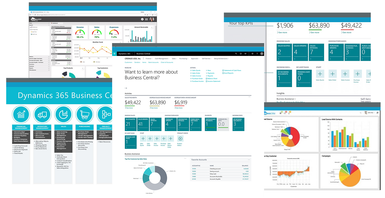 Accounting Software Financial Reports