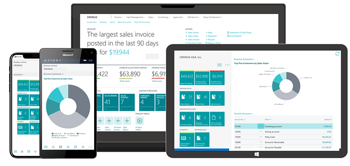 Dynamics365-Business-Central-Accounting System