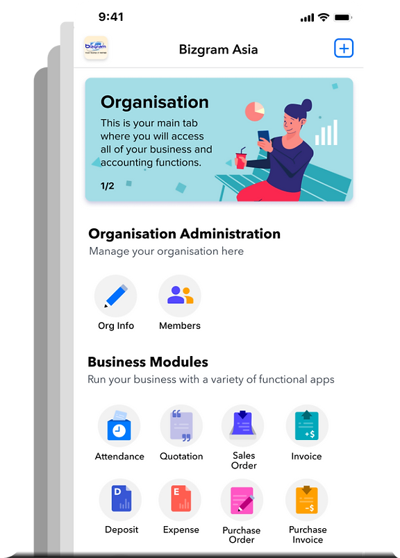 Deskera ERP, HRMS, and CRM for mobile