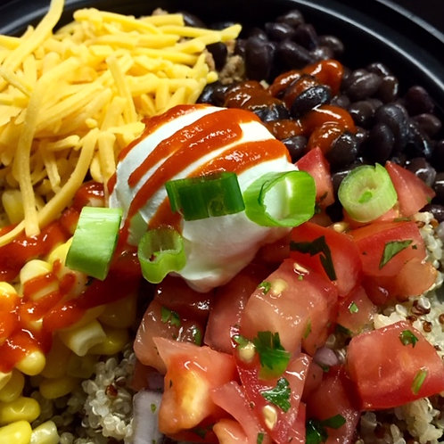 Turkey Taco Power Bowl