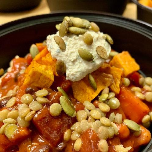 Vegetable, Bean & Lentil Chili