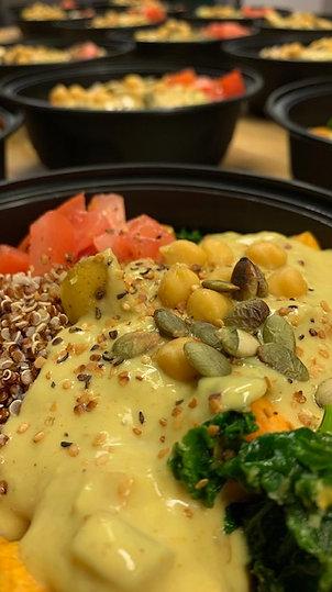 Vegan Chickpea & Kale Curry