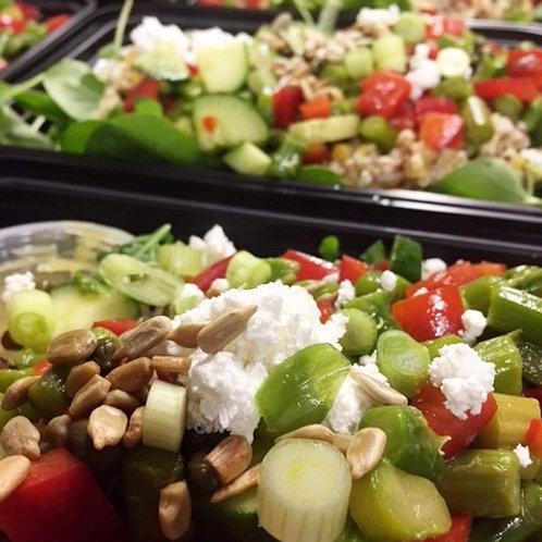 Greens, Grains & Beans Salad
