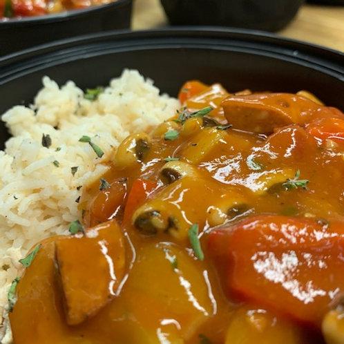 Creole Chicken, Sausage & Rice