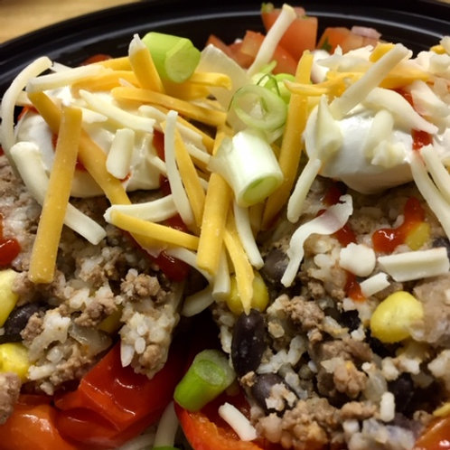 Primal Taco Stuffed Peppers