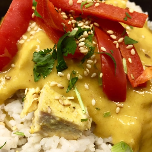 Primal Coconut Curry Chicken