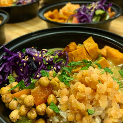 Coconut Curry Veggie Bowl
