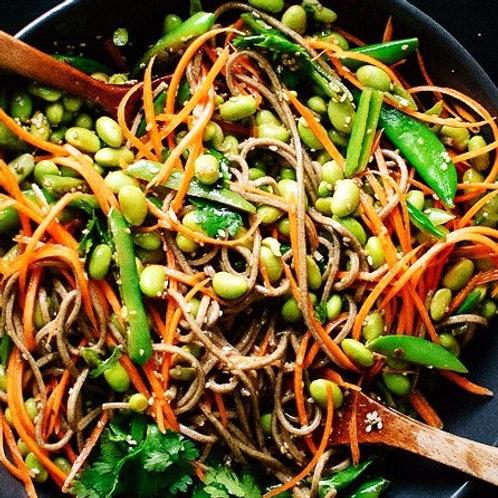 Snap Peas, Carrots & Soba