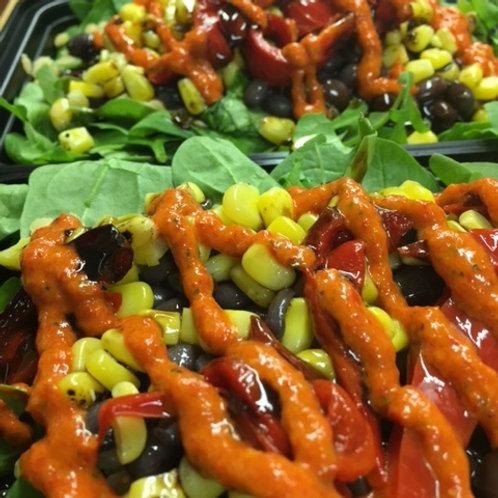 BBQ Portobello Salad