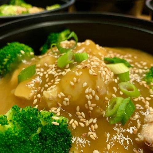 Orange Chicken & Broccoli