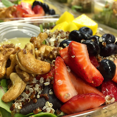Chicken, Quinoa, Fruit & Nuts