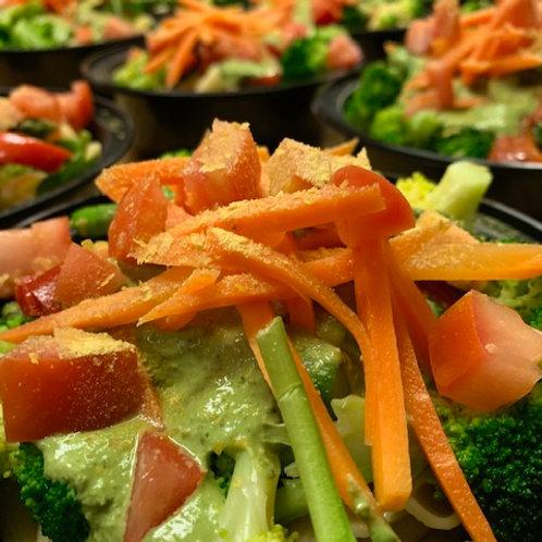 Pesto Penne & Vegetables