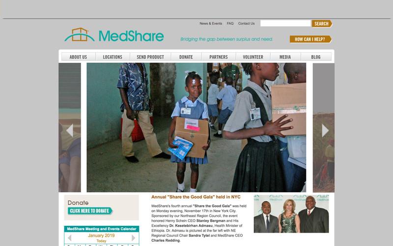 BEFORE: MedShare.org
