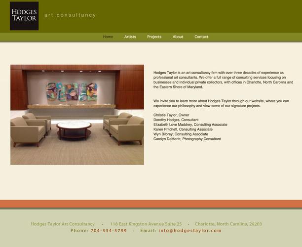 BEFORE: Hodgest Taylor Gallery website