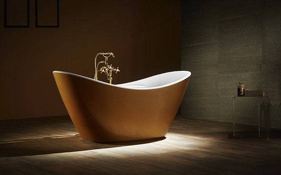 KING'S GOLD SOAKING TUB F-210G