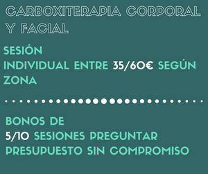 Promociones Carboxiterapia