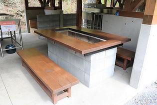 BBQ棟囲炉裏テーブル2