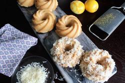 yema cakes w/ queso de bola