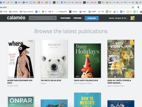 Issue #4 is featured on Calameo!
