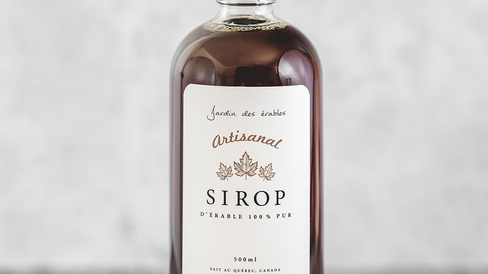 Sirop d'Érable