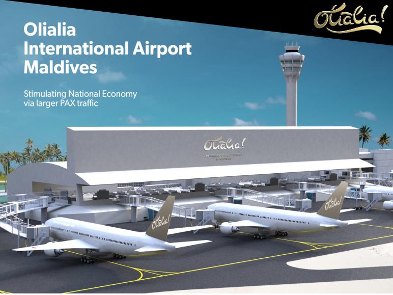 Olialia Internation Airport Maldives