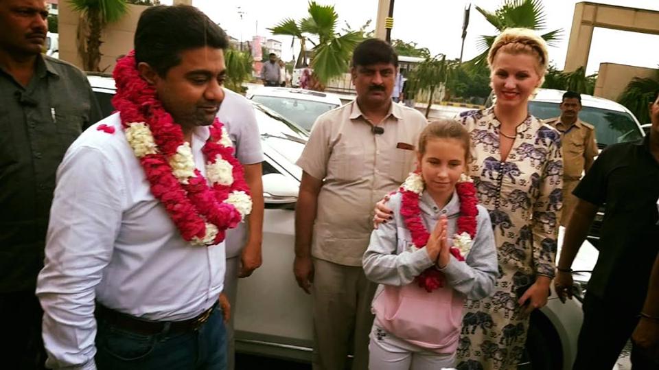 Abhishek Verma with Family