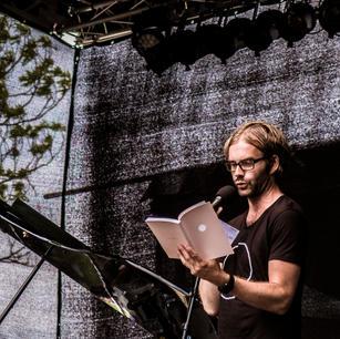 Festivalantologien 2018   lanseres av festivalsjef Martin M. Sørhaug