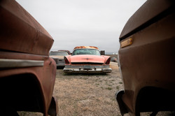 Salvage Cadillac Coupe Deville