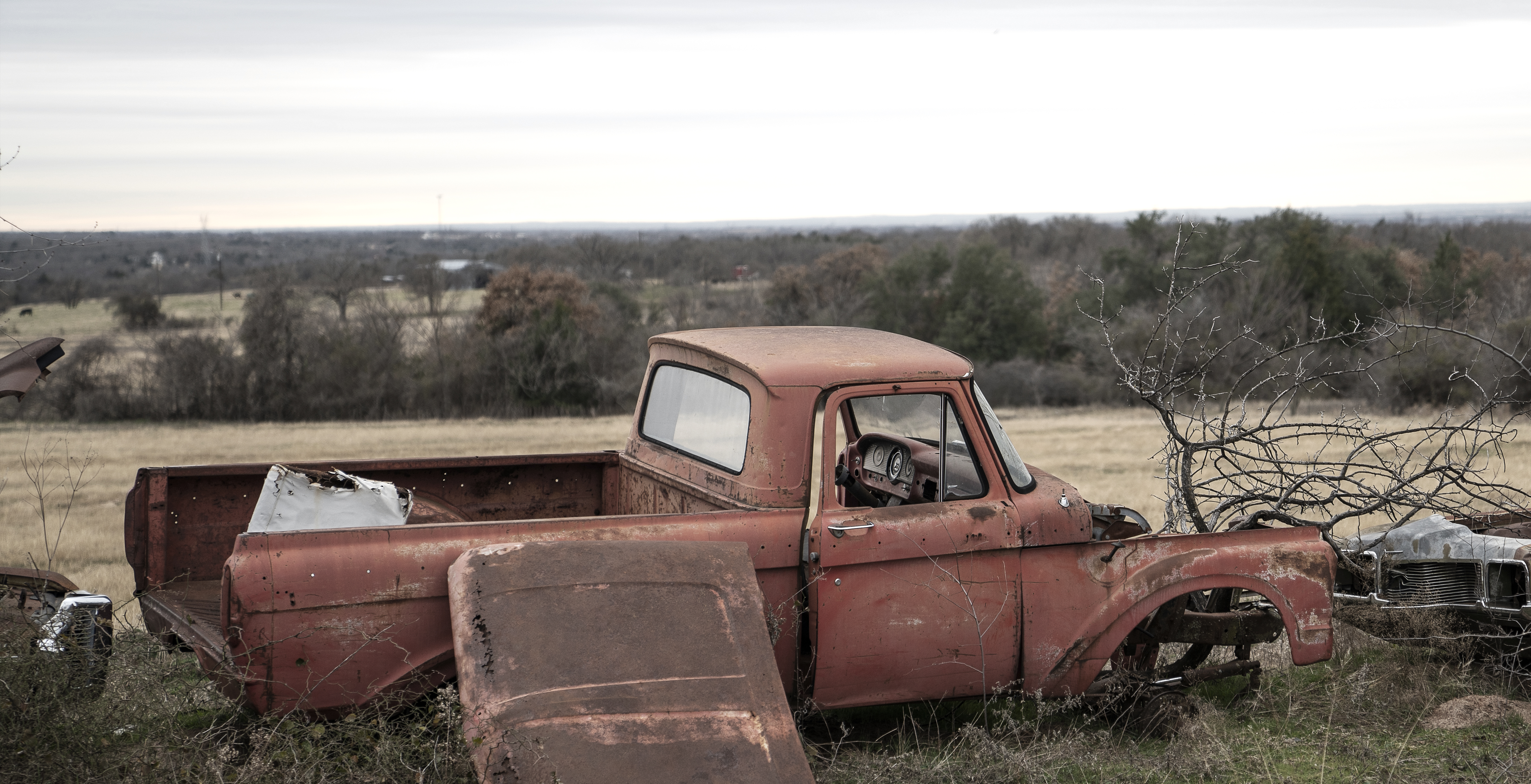 Salvage Ford pickup
