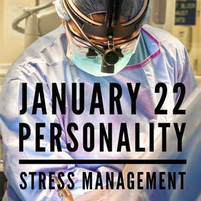 Personality: Stress Management