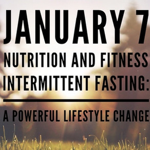 Health: Intermittent Fasting