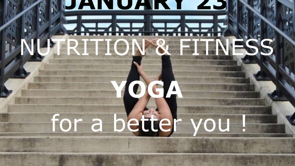 Health: YOGA - for a better you !