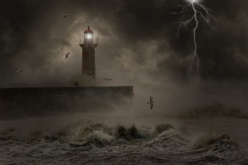 When leading are you the lighthouse or the storm?