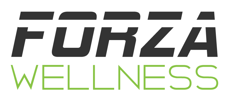 Corporate wellness logo, fitness, massage, yoga