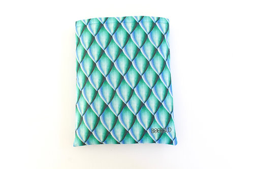 Dragon Scales Emerald BookBud Book Sleeve