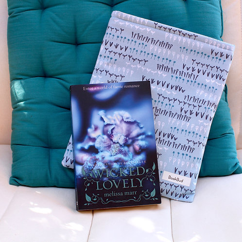 Flowerbed BookBud book sleeve