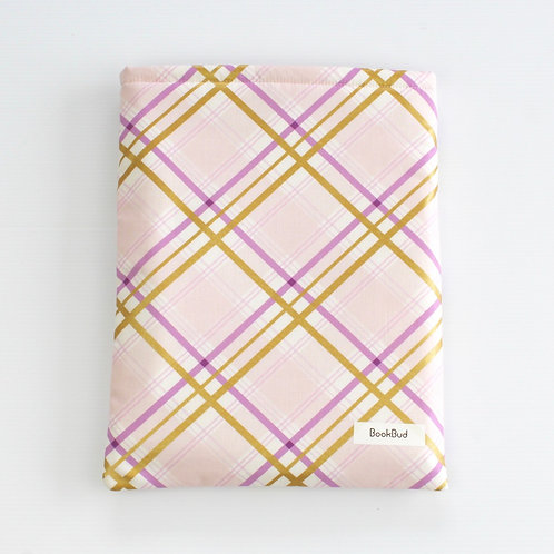 Royal Lilac BookBud book sleeve