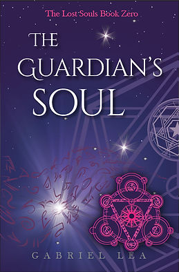 YA fantasy romance books The Guardian's Soul by Gabriel Lea