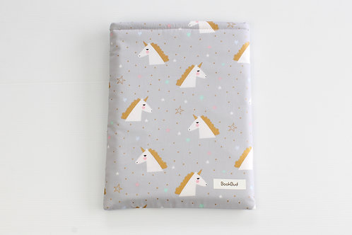 Unicorn BookBud book sleeve
