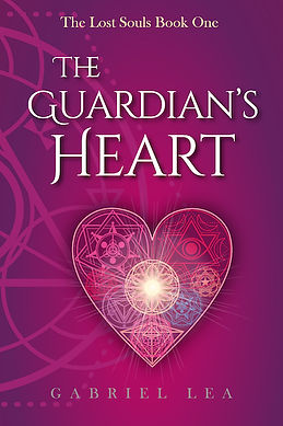 YA fantasy romance book, The Guardian's Heart by Gabriel Lea