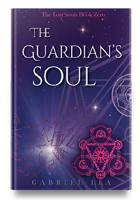 The Guarian's Soul YA fantasy book by Gabriel Lea